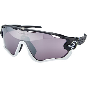 Oakley Jawbreaker Occhiali da sole, nero/bianco